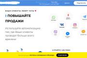 Скопирую страницу любой landing page с установкой панели управления 201 - kwork.ru