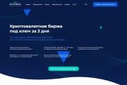 Копия сайта, landing page + админка и настройка форм на почту 190 - kwork.ru