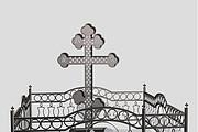 Ограды в 3 д по вашим размерам 25 - kwork.ru