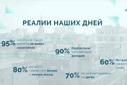 Стильный дизайн презентации 816 - kwork.ru