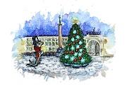 Нарисую акварельную или цифровую иллюстрацию 47 - kwork.ru