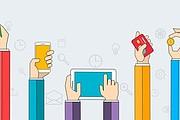 Шаблон SEO и агентства цифрового маркетинга с визуальным редактором 15 - kwork.ru
