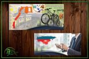Рекламный баннер 93 - kwork.ru