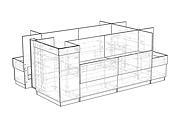 Конструкторская документация для изготовления мебели 261 - kwork.ru