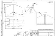 Создание чертежей, оцифровка по эскизу, изображению, схеме 12 - kwork.ru