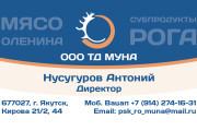 2 варианта дизайна макета визиток 4+4 от профессионального дизайнера 17 - kwork.ru