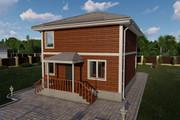 Фотореалистичная 3D визуализация экстерьера Вашего дома 345 - kwork.ru