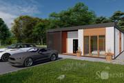 Фотореалистичная 3D визуализация экстерьера Вашего дома 229 - kwork.ru