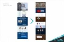 8 разделов лендинга - готовый сайт на Tilda. Быстрый запуск от 1 дня 35 - kwork.ru