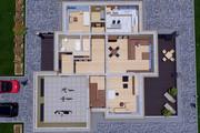 Фотореалистичная 3D визуализация экстерьера Вашего дома 390 - kwork.ru