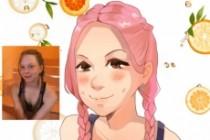 Создам ваш портрет в стиле аниме 95 - kwork.ru
