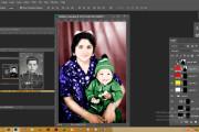 Реставрация фотографии, из чб в цветной, коррекция, восстановление 9 - kwork.ru