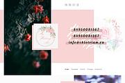 Дизайн сайта PSD 79 - kwork.ru