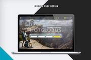 Первый экран Landing Page 40 - kwork.ru