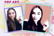 Нарисую портрет в стиле Pop Art,Comics Art, Stik Art 77 - kwork.ru