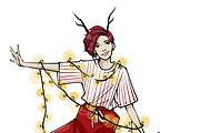 Fashion иллюстрация 9 - kwork.ru