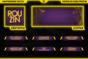 Оформление Twitch канала 131 - kwork.ru