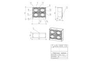 Конструкторская документация для изготовления мебели 278 - kwork.ru