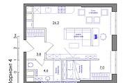 Планировка квартиры или жилого дома, перепланировка и визуализация 136 - kwork.ru