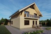 Фотореалистичная 3D визуализация экстерьера Вашего дома 316 - kwork.ru