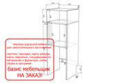 Проект корпусной мебели, кухни. Визуализация мебели 68 - kwork.ru