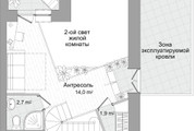 Планировка двухкомнатной квартиры за 24 часа 12 - kwork.ru