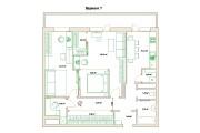 Планировочные решения. Планировка с мебелью и перепланировка 203 - kwork.ru