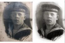 Ретушь, реставрация и восстановление старинных фотографий 4 - kwork.ru