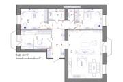 Планировка квартиры или жилого дома, перепланировка и визуализация 119 - kwork.ru