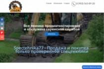 Создание одностраничника на Wordpress 367 - kwork.ru