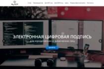 Создание одностраничника на Wordpress 362 - kwork.ru