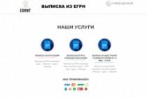 Создание одностраничника на Wordpress 357 - kwork.ru