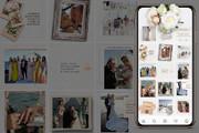 Оформление инстаграм. Дизайн 15 шаблонов постов и 3 сторис 27 - kwork.ru