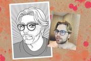 Портрет в стиле аниме или манги 43 - kwork.ru