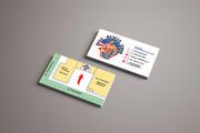 Дизайн визитки 66 - kwork.ru