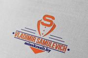 Создам строгий логотип в трех вариантах 77 - kwork.ru