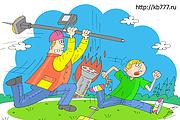Оперативно нарисую юмористические иллюстрации для рекламной статьи 132 - kwork.ru