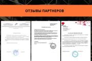 Стильный дизайн презентации 740 - kwork.ru
