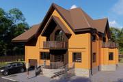 Фотореалистичная 3D визуализация экстерьера Вашего дома 361 - kwork.ru