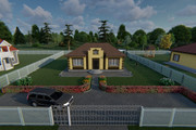 Фотореалистичная 3D визуализация экстерьера Вашего дома 369 - kwork.ru
