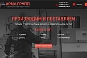 Создание сайта - Landing Page на Тильде 325 - kwork.ru