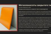 Стильный дизайн презентации 613 - kwork.ru