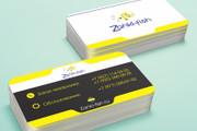 Разработаю красивый, уникальный дизайн визитки в современном стиле 165 - kwork.ru