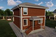 Фотореалистичная 3D визуализация экстерьера Вашего дома 344 - kwork.ru