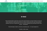 Создание одностраничника на Wordpress 257 - kwork.ru