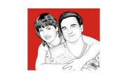 Нарисую поп-арт портрет по фото 7 - kwork.ru