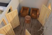 Создам планировку дома, квартиры с мебелью 120 - kwork.ru