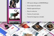 Готовые шаблоны для Вконтакте и Инстаграм 79 - kwork.ru