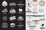 50 Уникальных шаблонов логотипов 12 - kwork.ru