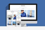Создам сайт на WordPress с уникальным дизайном, не копия 56 - kwork.ru